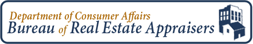 Bureau of Real Estate Appraisers logo